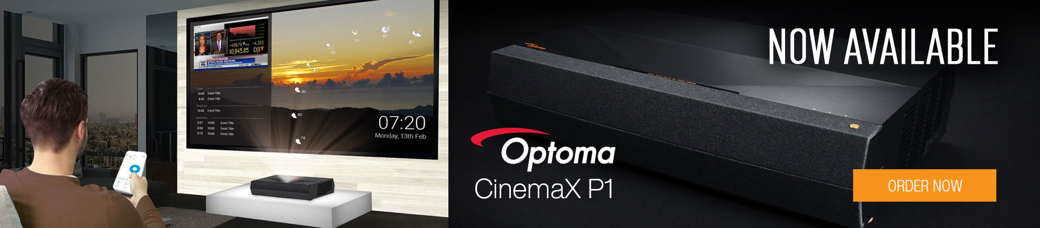 Optoma CinemaX P1 Projector