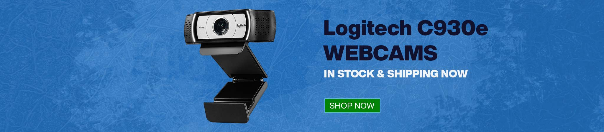 Logitech C930e webcam in stock and shipping