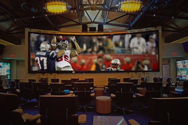 sports bar projector
