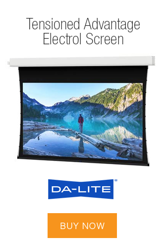 DALITE Advantage Tensioned Electrol Screen