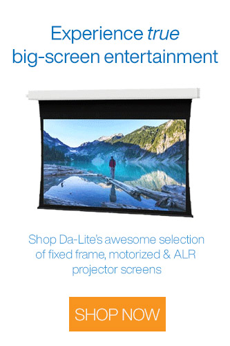 Da-Lite Projector Screens on Sale