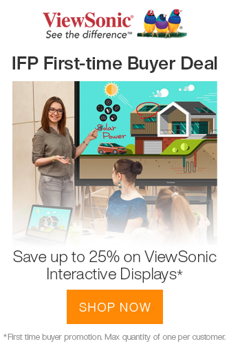 ViewSonic IFP First-time Buyer Deal